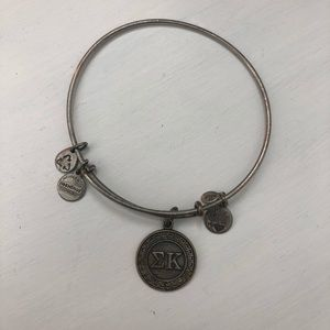 Alex and Ani - Sigma Kappa Bangle, SILVER